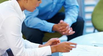 coffee meeting between sourcing team and procurement professionals