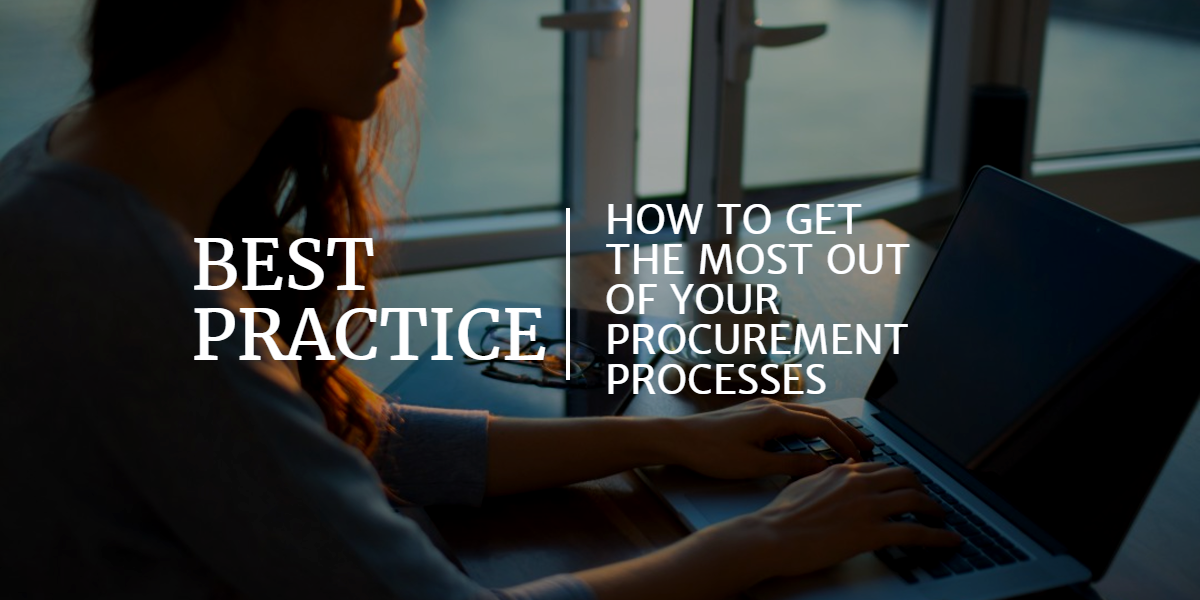 Category Guides Best Practice Tenders